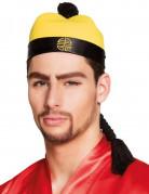 Chinesischer Hut mit Haarflechte!