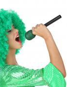 Glitzerndes Mikrofon für Sänger grün