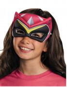 Power Rangers™ Augenmaske pink für Kinder