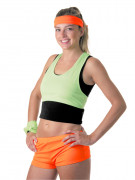 Shorts neonorange für Damen