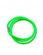 Geflochtenes Armband für Erwachsene neongrün