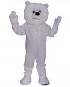 Maskottchen Kostüm Eisbär