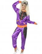 Jogging-Kostüm für Damen im Retrostil