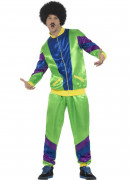80er Jahre Jogging-Kostüm für Herren