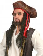 Hut Pirat mit Haaren für Kinder