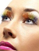 Falsche Wimpern Regenbogefarben Damen