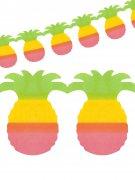 Hawaii-Girlande Partydekoration Ananas