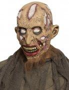 Zombie-Moorleiche Halloween-Maske bunt
