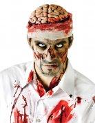 Blutiges Gehirn für Erwachsene Kopfbedeckung Halloween