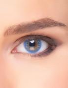Himmlische Kontaktlinsen Make-up Zubehör blau