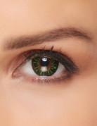Fantasy-Kontaktlinsen Make-up-Zubehör grün-gelb