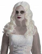 Langhaar-Perücke Geist, langes weißes Haar