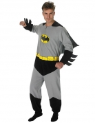 Batman™-Overall Superhelden-Anzug schwarz-grau