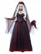 Gothic Vampir Braut Kostüm für Damen
