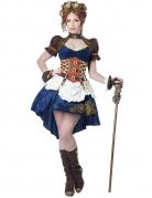 Retro-futuristische Kostüm Steampunk Damen