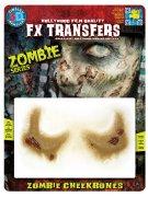 Zubehör Zombie-Tattoo-grüne Haut
