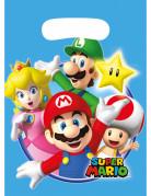 Kunststoff Taschen Super Mario™ 8 Stück