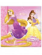 20 Papierservietten 33 x 33 Disney™ Prinzessinnen