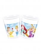 8 Kunststoffbecher Disney Prinzessinnen 20cl