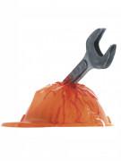 Blutiger-Helm mit Axt für Erwachsene
