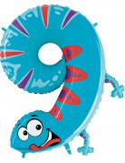 Riesen Ballon Zahl 9