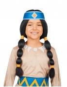 Yakari™ Indianer-Stirnband für Kinder Lizenzartikel für Kinder blau-gelb