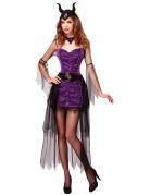 Lila Prinzessin Kostüm Böse Damen Halloween