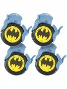 4 Batman™-Logo Scheiben