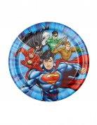 8 kleine Teller Justice League™ 18 cm