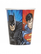 8 Pappbecher Justice League™ 25 cl
