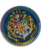8 kleine Pappteller Harry Potter™ 18 cm