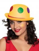 Hut Clown mit Bommeln für Erwachsene