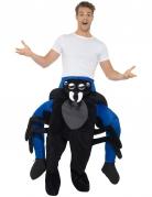 Mann auf Rücken von Spinne Kostüm