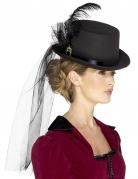 Steampunk Damen-Hut mit Schleier