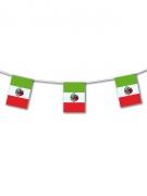 Mexiko-Wimpelgirlande grün-weiss-rot 5m