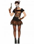 Steampunk Skelett Kostüm für Damen