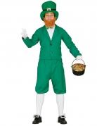 Grünes Leprechaun Kostüm für Herren St. Patrick