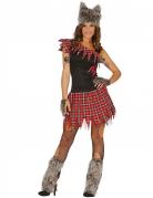 Kostüm Werwolf für Damen
