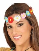 Blumenstirnband für Erwachsene bunt