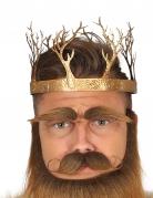 Mittelalterliche Krone König gold