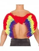 Regenbogen-Flügel Kostüm-Accessoire Phönix bunt 80x50cm
