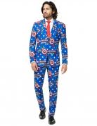 Mr. Captain America™ Opposuits-Kostüm für Herren Marvel bunt