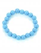 Perlen-Armband Kostüm-Accessoire blau