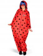 Ladybug™ Kostüm Einteiler mit Perücke für Erwachsene