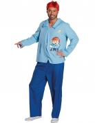 Edi Mainzelmännchen™ Kostüm für Erwachsene blau