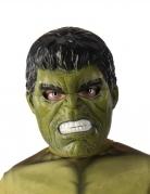 Hulk™ Maske Lizenzartikel für Kinder grün-schwarz