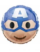 Captain America Emoji Aluminiumballon 43 cm