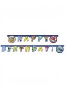 Super Wings Happy Birthday Girlande