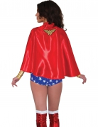 Wonder Woman™-Cape für Damen Kostüm-Umhang rot-gelb