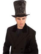 Steampunk-Zylinder für Herren Kostümzubehör braun